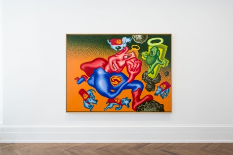 PETER SAUL Some Terrible Problems 23 September through 5 November 2016 MAYFAIR, LONDON, Installation View 1