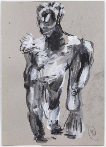 """Markus Lüpertz """"Untitled (Hercules)"""", 2003"""