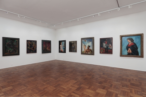 Francis Picabia, Late Paintings, New York, 2011-2012, Installation Image 4