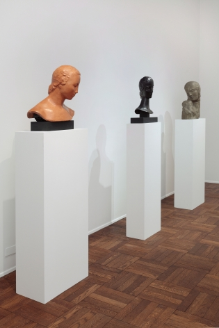 WILHELM LEHMBRUCK, Sculptures and Etchings, New York, 2012, Installation Image 1