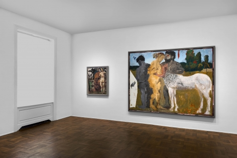 Markus Lüpertz, New Paintings, New York, 2017, Installation Image 6