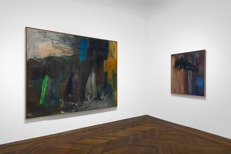 PER KIRKEBY, Paintings and Bronzes from the 1980s, New York, 2018, Installation Image 14
