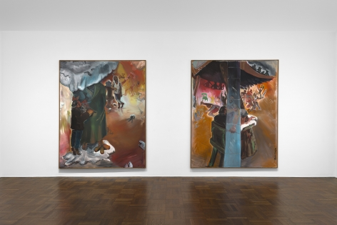 JÖRG IMMENDORFF Questions from a Painter Who Reads 21 February through 13 April 2019 UPPER EAST SIDE, NEW YORK, Installation View 3
