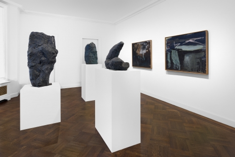 PER KIRKEBY, Paintings and Bronzes from the 1980s, New York, 2018, Installation Image 22