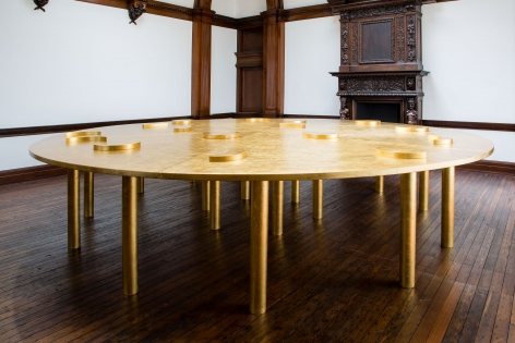 JAMES LEE BYARS, The Diamond Floor, London, 2015, Installation Image 15