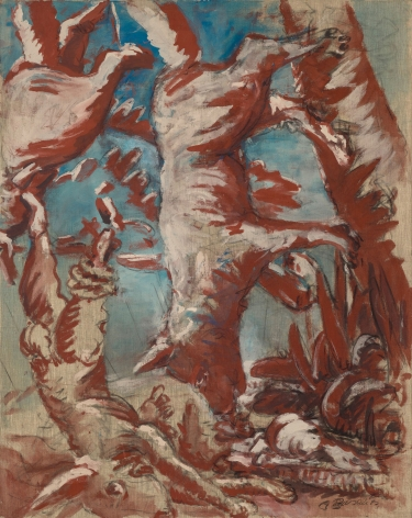 """Hund und Hase abwärts (Dog and Hare Downward)"", 1967"