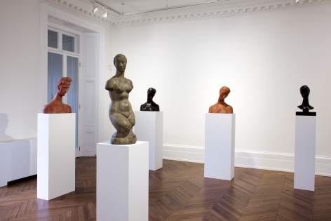 WILHELM LEHMBRUCK Sculpture and Works on Paper 21 March through 25 May 2013 MAYFAIR, LONDON, Installation View 3