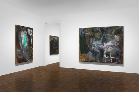 PER KIRKEBY, Paintings and Bronzes from the 1980s, New York, 2018, Installation Image 7