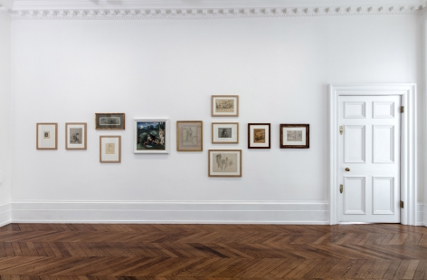 PIERRE PUVIS DE CHAVANNES, Works on Paper and Paintings, London, 2018, Installation Image 5
