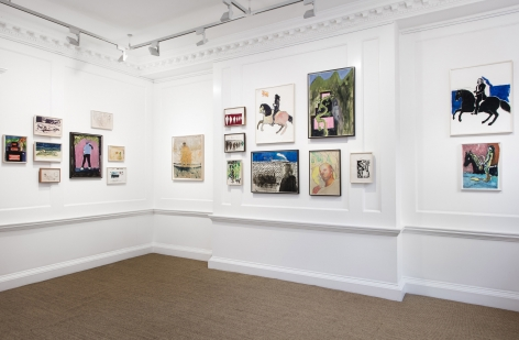 Peter Doig, London, 2017-2018, Installation Image 15