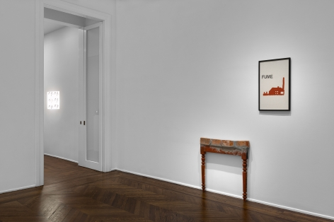 MARCEL BROODTHAERS Écriture 28 January through 26 March 2016 UPPER EAST SIDE, NEW YORK, Installation View 11