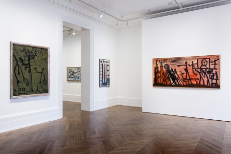 A.R. PENCK, Early Works, London, 2015, Installation Image 4