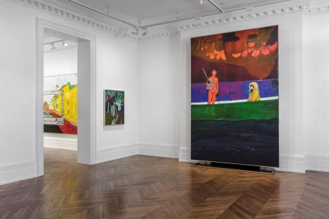PETER DOIG Paintings 6 September through 16 November 2019 MAYFAIR, LONDON, Installation View 6