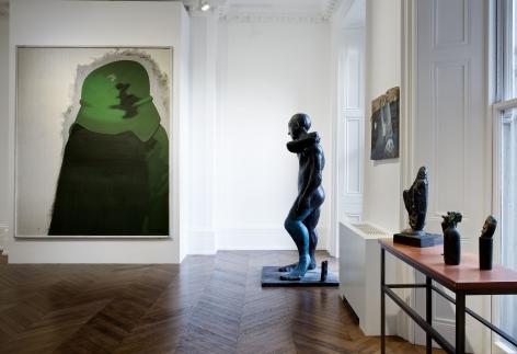Markus Lüpertz, Players Ball, London, 2014, Installation Image 5