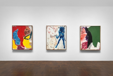 Don Van Vliet, Parapliers the Willow Dipped, Paintings 1967-1997, New York, 2020, Installation Image 6