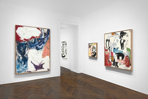 Don Van Vliet, Parapliers the Willow Dipped, Paintings 1967-1997, New York, 2020, Installation Image 10