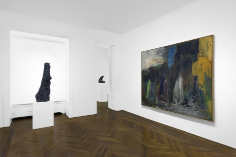 PER KIRKEBY, Paintings and Bronzes from the 1980s, New York, 2018, Installation Image 15