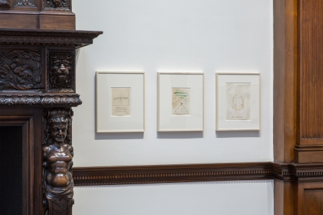 Sigmar Polke, Early Works on Paper, London, 2015, Installation Image 17