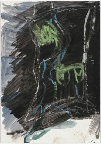 "Per Kirkeby, ""Untitled"", ca. 1982"