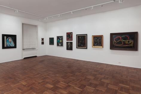 Francis Picabia, Late Paintings, New York, 2011-2012, Installation Image 8