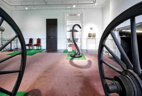 MARCEL BROODTHAERS Décor: A Conquest and Bricks: 1966-1975 21 November 2013 through 18 January 2014 MAYFAIR, LONDON, Installation View 6
