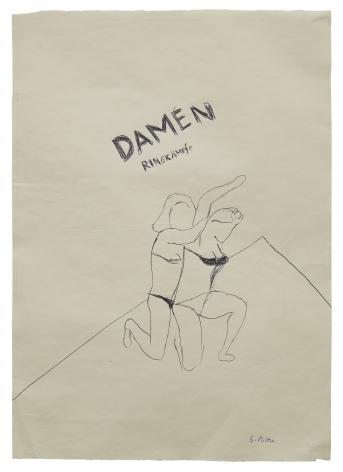 """""""Damen-Ringkämpfe (Ladies Wrestling)"""", ca. 1968"""
