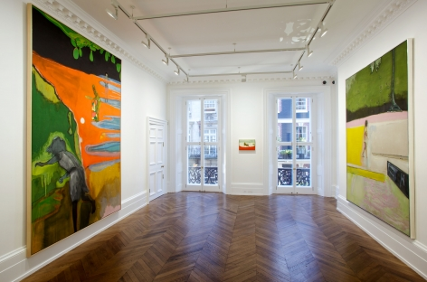 PETER DOIG, New Paintings, London, 2012, Installation Image 2