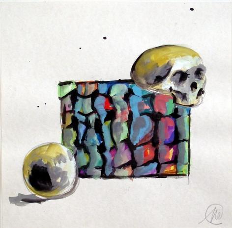 """Markus Lüpertz, """"Untitled"""", 2001"""