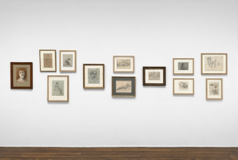 PIERRE PUVIS DE CHAVANNES, Works on Paper and Paintings, New York, 2018, Installation Image 12