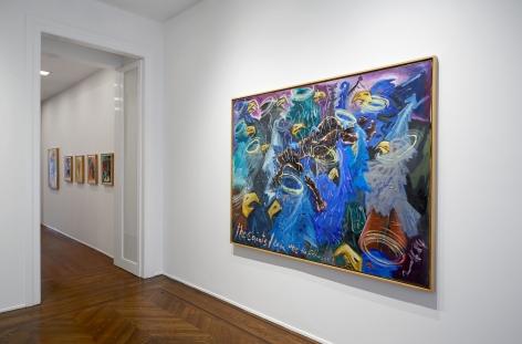 Jörg Immendorff, Café Deutschland, New York, 2014, Installation Image 7