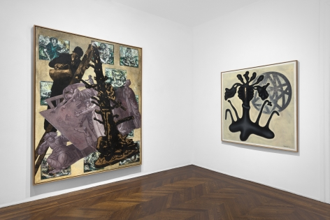 JÖRG IMMENDORFF Questions from a Painter Who Reads 21 February through 13 April 2019 UPPER EAST SIDE, NEW YORK, Installation View 12