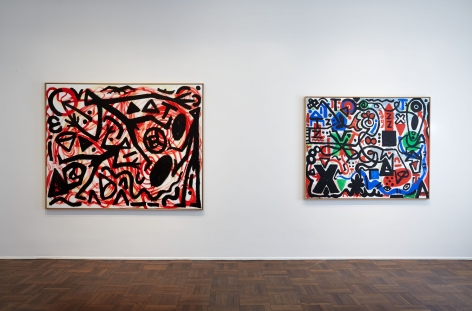 A.R. PENCK, Between Light and Shadow, New York, 2015, Installation Image 3