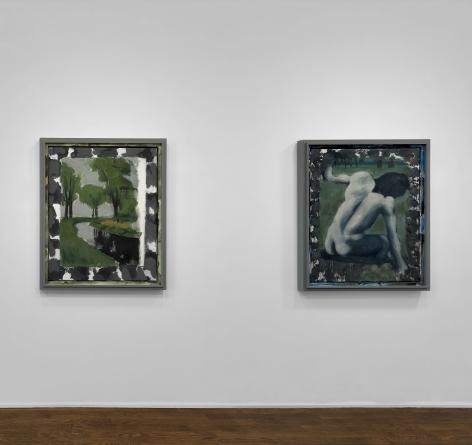 Markus Lüpertz, New Paintings, New York, 2017, Installation Image 9