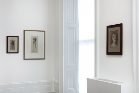 PIERRE PUVIS DE CHAVANNES, Works on Paper and Paintings, London, 2018, Installation Image 8