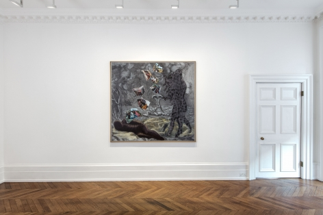 JÖRG IMMENDORFF, Questions from a Painter Who Reads, London, 2018, Installation Image 3