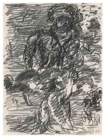 """""""Untitled"""", 1967 Pencil on paper"""