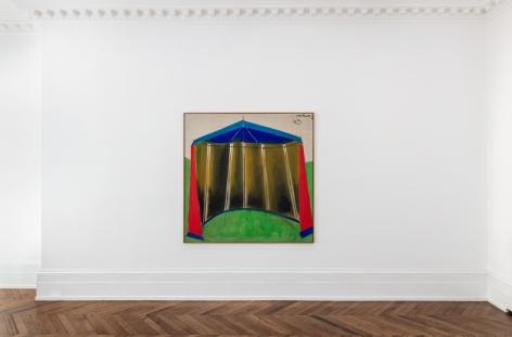 MARKUS LÜPERTZ, Tent Paintings, 1965, London, 2018, Installation Image 1
