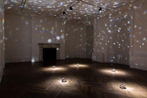 JAMES LEE BYARS, The Diamond Floor, London, 2015, Installation Image 7