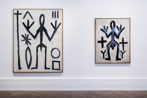 A.R. PENCK, Early Works, London, 2015, Installation Image 10