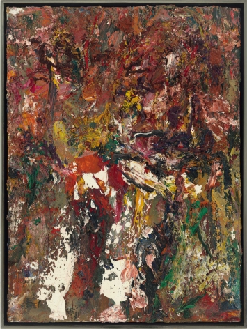 "Eugène Leroy, ""Ides de mars – Iris (Ides of March – Iris)"", 1992"