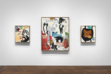 Don Van Vliet, Parapliers the Willow Dipped, Paintings 1967-1997, New York, 2020, Installation Image 11