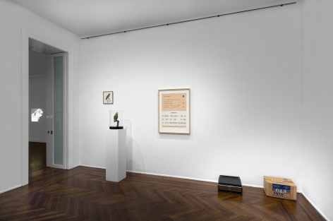 MARCEL BROODTHAERS Écriture 28 January through 26 March 2016 UPPER EAST SIDE, NEW YORK, Installation View 14