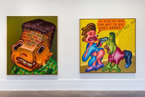 PETER SAUL Some Terrible Problems 23 September through 5 November 2016 MAYFAIR, LONDON, Installation View 5