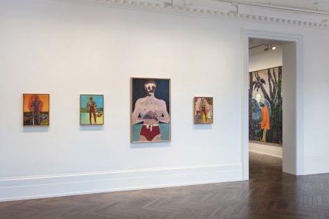 Peter Doig, London, 2017-2018, Installation Image 8