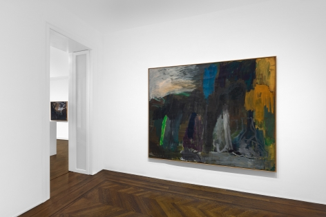 PER KIRKEBY, Paintings and Bronzes from the 1980s, New York, 2018, Installation Image 13