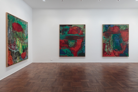 Per Kirkeby, New Paintings, New York, 2011, Installation Image 4