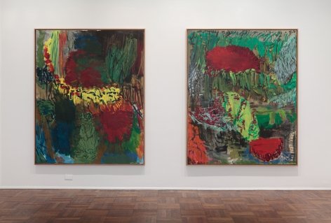 Per Kirkeby, New Paintings, New York, 2011, Installation Image 7