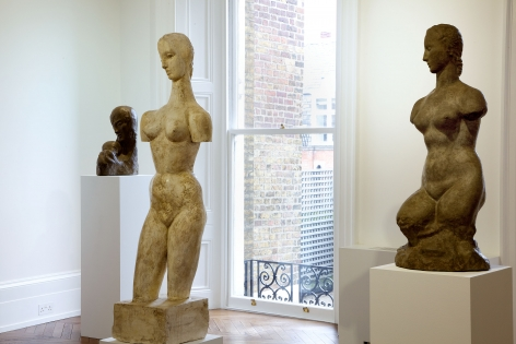 WILHELM LEHMBRUCK Sculpture and Works on Paper 21 March through 25 May 2013 MAYFAIR, LONDON, Installation View 8