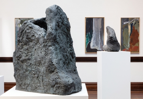 Per Kirkeby, Paintings and Bronzes from the 1980s, London, 2017, Installation Image 11