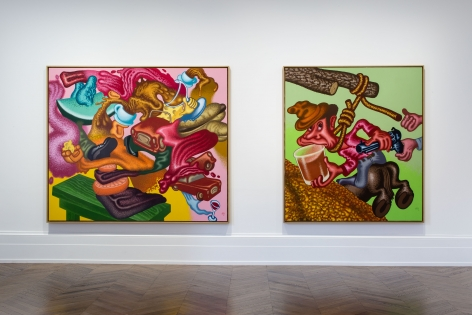 PETER SAUL Some Terrible Problems 23 September through 5 November 2016 MAYFAIR, LONDON, Installation View 3